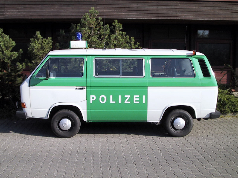 Bilder Polizei Bulli